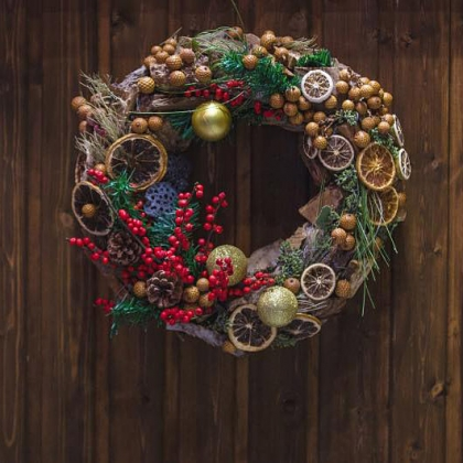 Christmas Wreath Making Masterclass